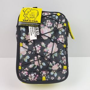 Yak Pak Lunch Box Insulated Floral Yellow Bungie